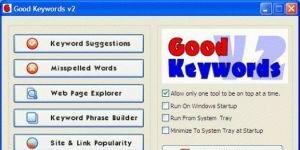 Good Keywords Ekran Görüntüsü
