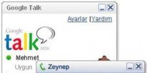 Google Talk Ekran Görüntüsü