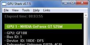 GPU Shark Ekran Görüntüsü