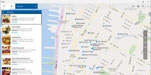 Windows Maps Ekran Görüntüsü
