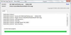 HDD Raw Copy Tool Ekran G�r�nt�s�
