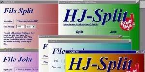 HJSplit Ekran Görüntüsü
