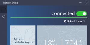Hotspot Shield Ekran Görüntüsü