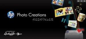 HP Photo Creations  Ekran G�r�nt�s�