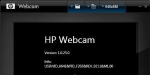 HP Webcam Software Ekran G�r�nt�s�
