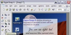 HyperSnap Ekran Görüntüsü