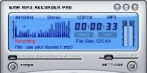 I-Sound MP3 WMA Recorder Professional Ekran G�r�nt�s�