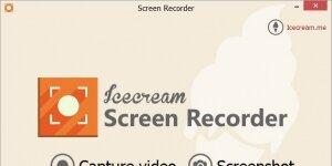 Icecream Screen Recorder Ekran Görüntüsü