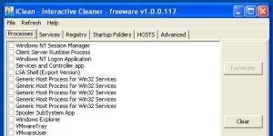 iClean Ekran Görüntüsü