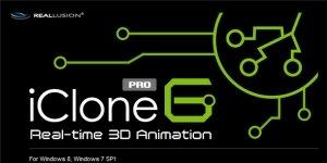 iClone6 Ekran Görüntüsü