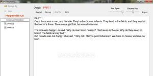 �ngilizce Okuyucu Ekran G�r�nt�s�