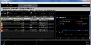 InSSIDer Ekran Görüntüsü