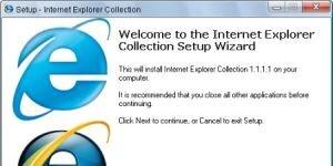 Internet Explorer Collection Ekran G�r�nt�s�
