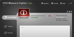 IObit Malware Fighter Ekran G�r�nt�s�