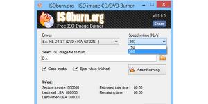 ISOburn Ekran Görüntüsü
