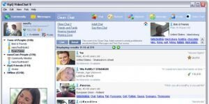 iSpQ VideoChat Ekran Görüntüsü
