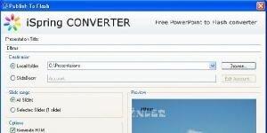 iSpring Converter Ekran G�r�nt�s�