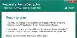 Kaspersky RectorDecryptor Ekran G�r�nt�s�