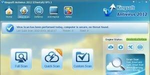 Kingsoft Antivirus Ekran G�r�nt�s�