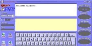 Kiran's Typing Tutor Ekran Görüntüsü