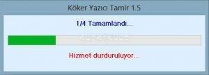 K�ker Yaz�c� Tamir Ekran G�r�nt�s�