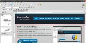 KompoZer Ekran Görüntüsü