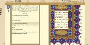 Kur'an-ı Kerim Diyanet İşleri Başkanlığı Ekran Görüntüsü