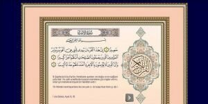 Kuran-ı Kerim Öğretimi Ekran Görüntüsü