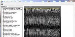 Kuranı Kerim Hatimler Programı Chm Ekran Görüntüsü