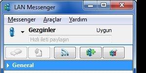 LAN Messenger Ekran Görüntüsü