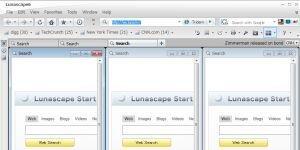 Lunascape Ekran Görüntüsü