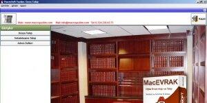 MacroSoft Dava Takip Ekran Görüntüsü