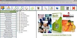 MacroSoft MacEx Narenciye Otomasyonu Ekran Görüntüsü