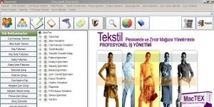 MacTex Tekstil Perakende Programı Ekran Görüntüsü