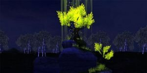 Magic Tree 3D Screensaver Ekran Görüntüsü