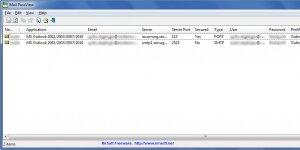 Mail PassView Ekran Görüntüsü