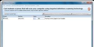 EMCO Malware Destroyer Ekran G�r�nt�s�