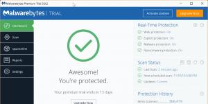 Malwarebytes Anti-Malware Ekran Görüntüsü
