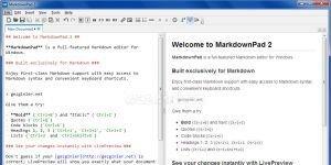 MarkdownPad Ekran Görüntüsü