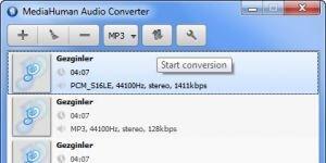 MediaHuman Audio Converter Ekran Görüntüsü