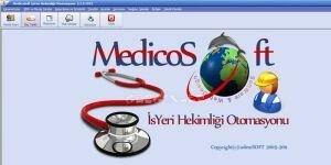 Medicosoft ��yeri Hekimli�i Otomasyonu Ekran G�r�nt�s�