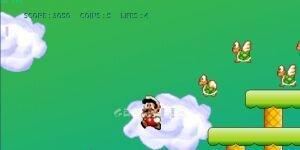 Mega Mario Ekran G�r�nt�s�