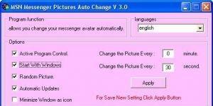 Messenger Pictures Auto Ekran G�r�nt�s�