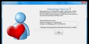 Messenger Reviver Ekran G�r�nt�s�
