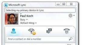 Microsoft Lync Ekran Görüntüsü