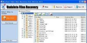 MiniTool Power Data Recovery Free Edition Ekran Görüntüsü