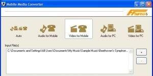 Mobile Media Converter Ekran Görüntüsü