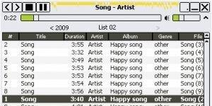 Moo0 AudioPlayer Ekran Görüntüsü