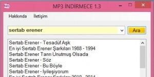 MP3 İndirmece Ekran Görüntüsü