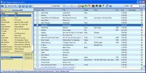 MP3 Player Library Ekran Görüntüsü